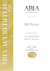 ABIA Accreditation (Australian Bridal Industry Academy)